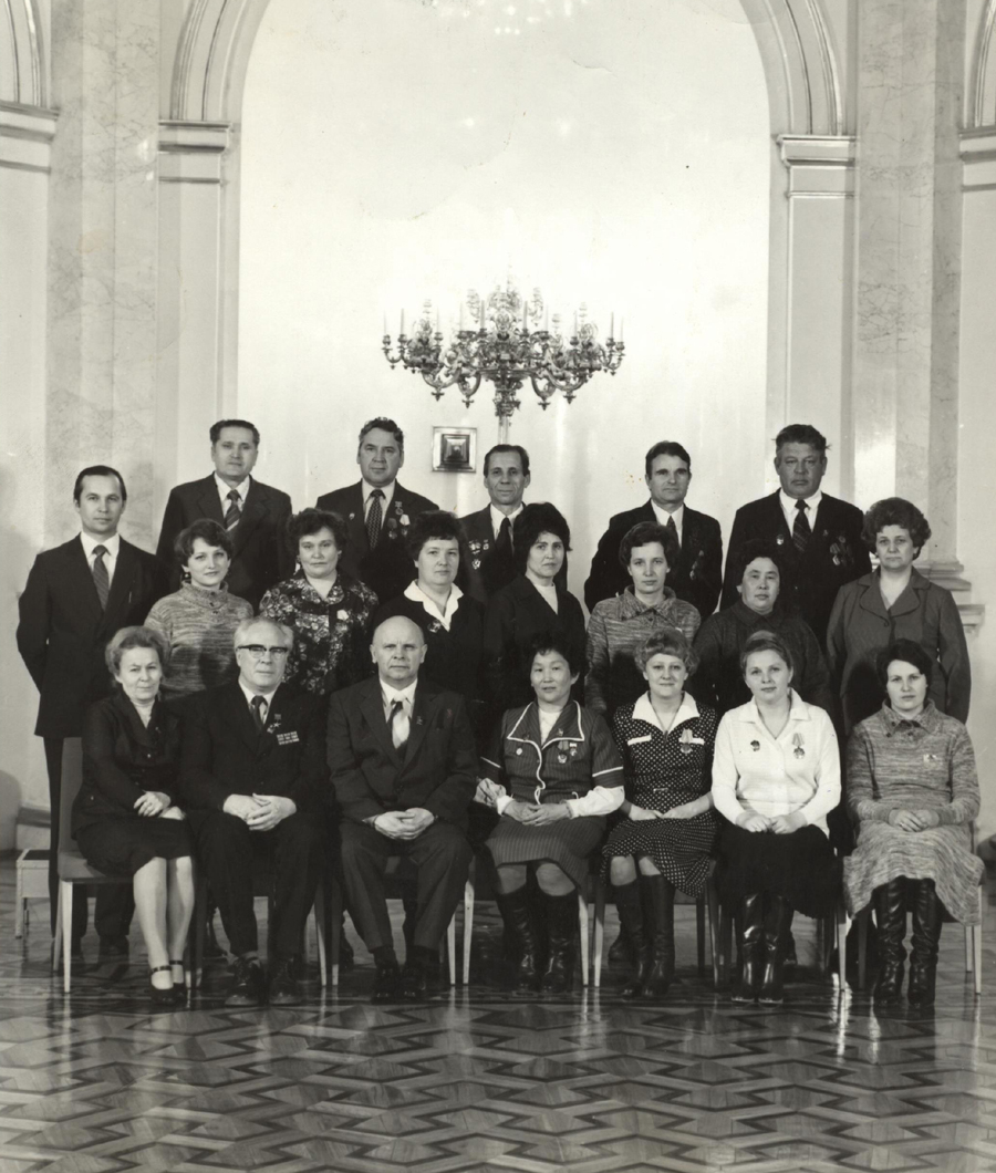 45. Батожаргалова Дарима Аргали. Москва, Кремль, март 1982 года, 17 съезд профсоюзов СССР.jpg