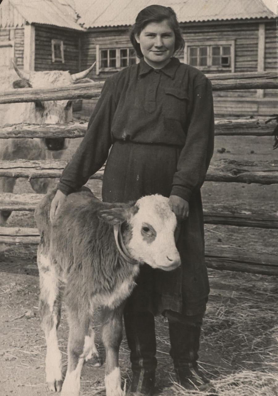 Зинаида Огородникова, Х=Шибирь. 1957 г..jpg