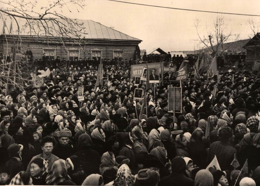 1958 г. Приехали из внутренней Монголии КНР.jpg
