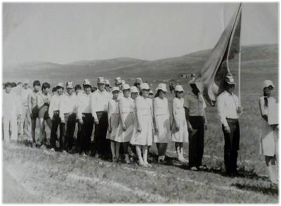 К-99 Команда колхоза на районной спартакиаде.jpg