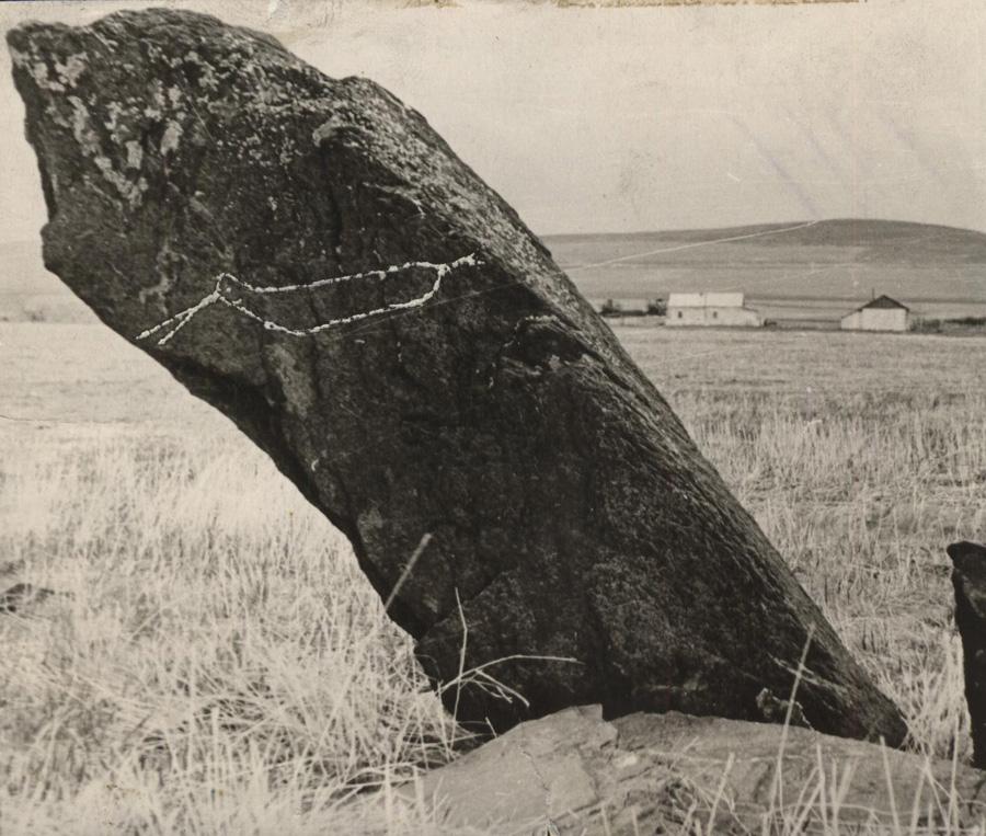 Местность Сагаан Куо, Ушарбай. Олений камень.jpg