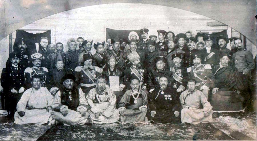15. Агинская знать. 1911 год..jpg