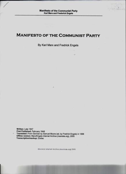 Manifest 001