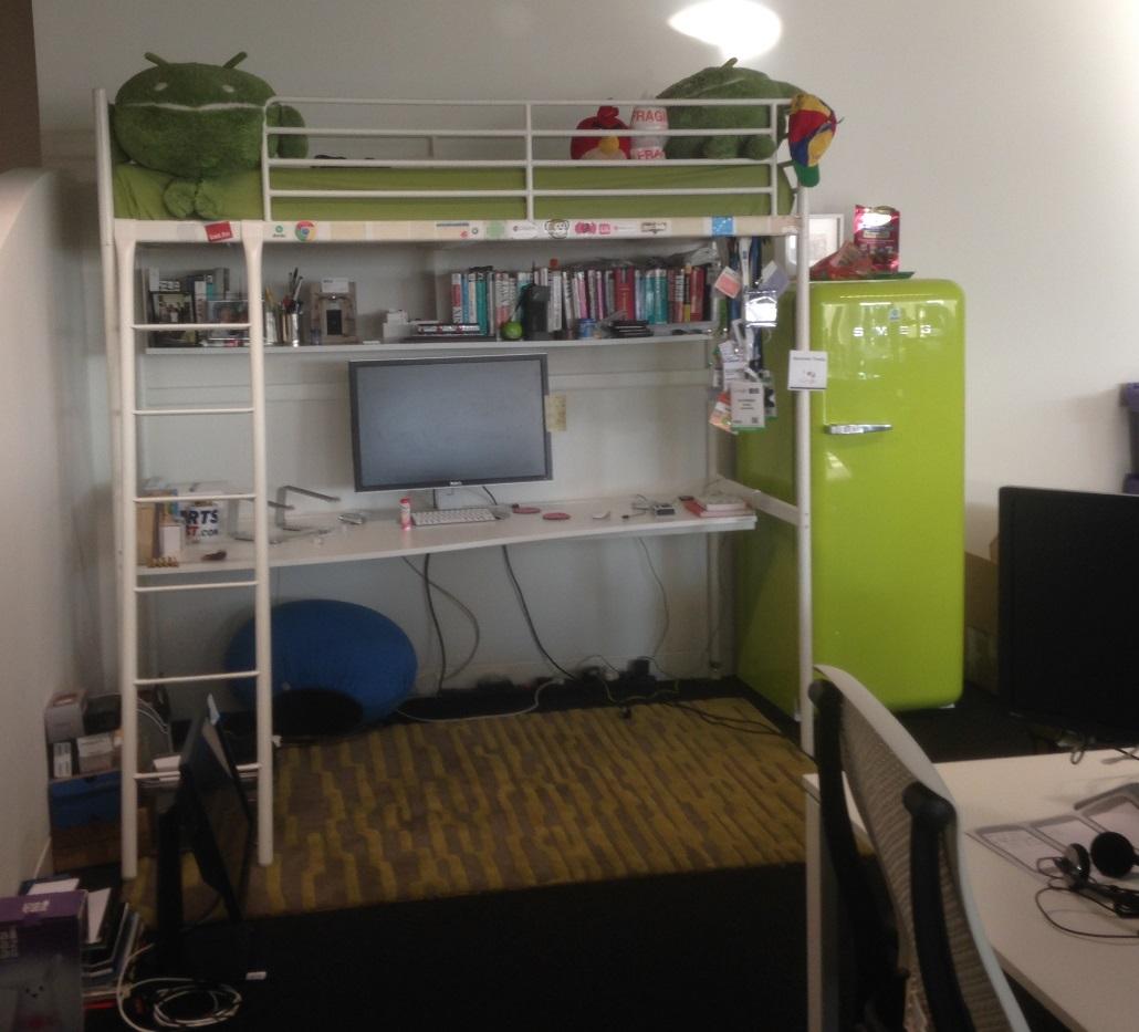 Desk - bed