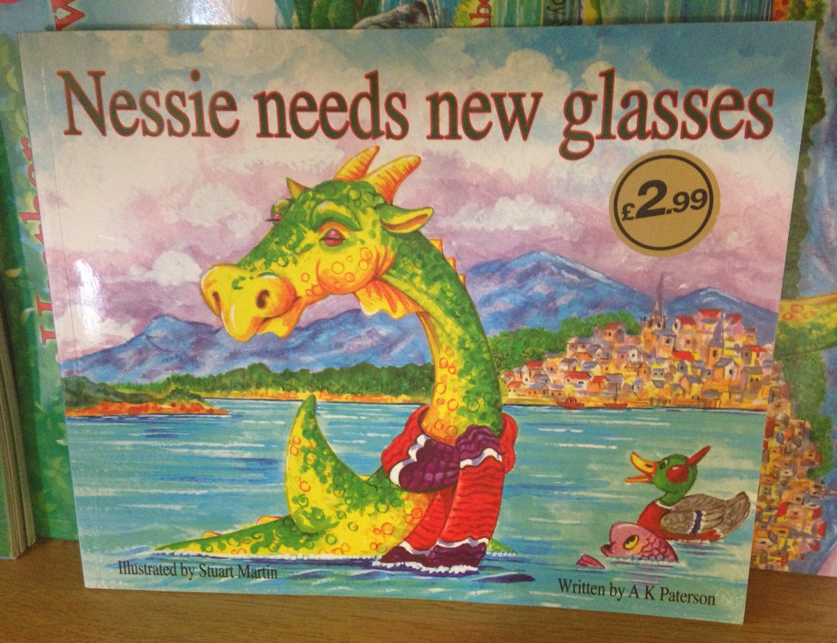 Nessie books 3