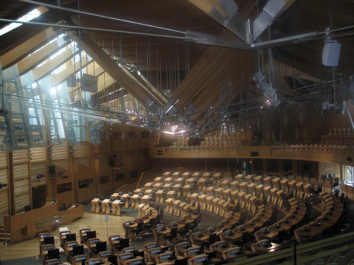 Scottish Parlament 2 - inside