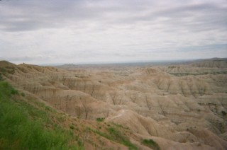 Badlands in all their otherworldly beauty