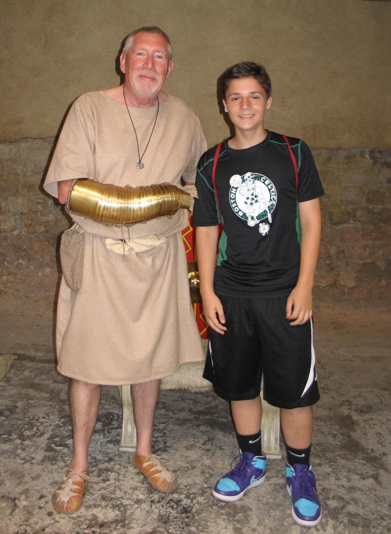 Nathan with Roman - Bath