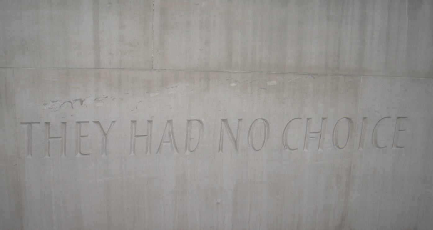 Animal Monument - They had no choice
