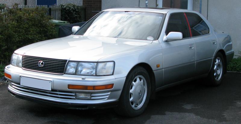 Lexus LS400 three-quarters