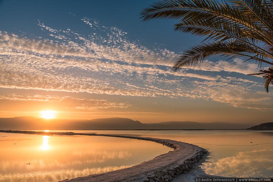 Мёртвое море пейзаж