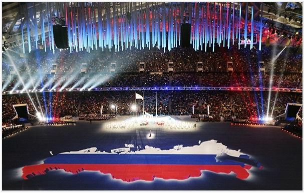 паралимпиада сочи церемония закрытия парад наши россия