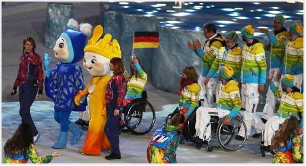 паралимпиада сочи церемония закрытия парад