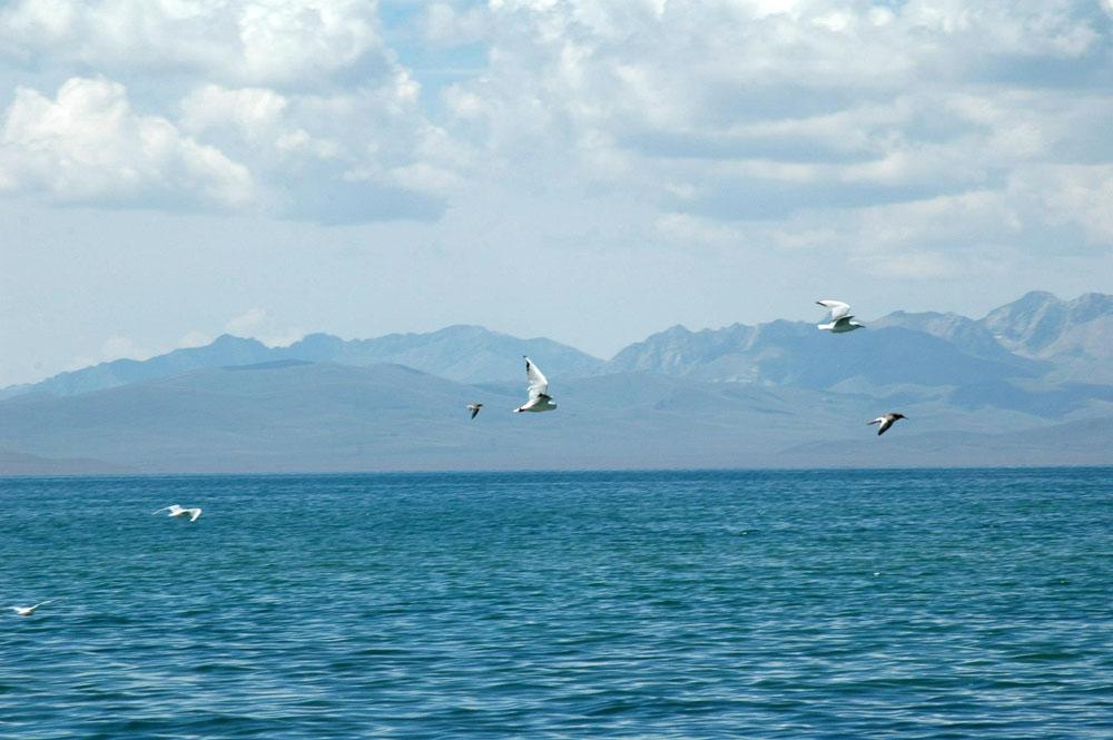 Son-Kul lake, Kyrgyzstan. Озеро Сон-Куль