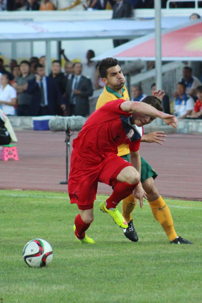 Kyrgyzstan vs. Australia 1:2
