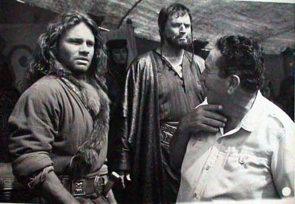 Съемки фильма Чингисхан в Кыргызстане, 1992 год