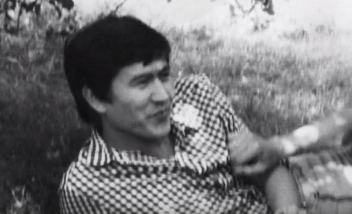 Алмазбек Атамбаев в юности
