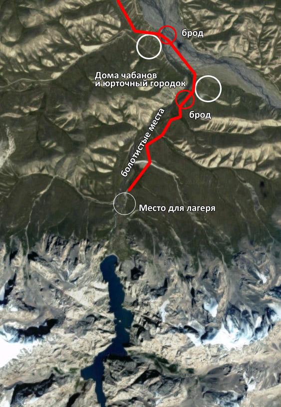 Схема проезда / Озеро Кель-Суу - Kel-Suu Lake / Azamat Imanaliev
