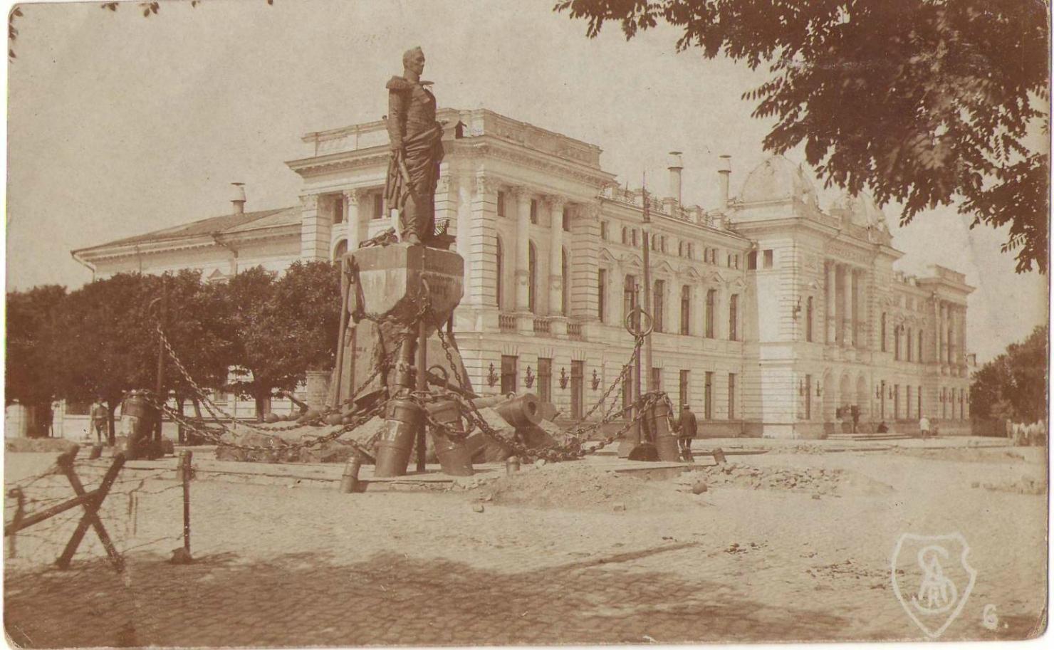 Вид с площади