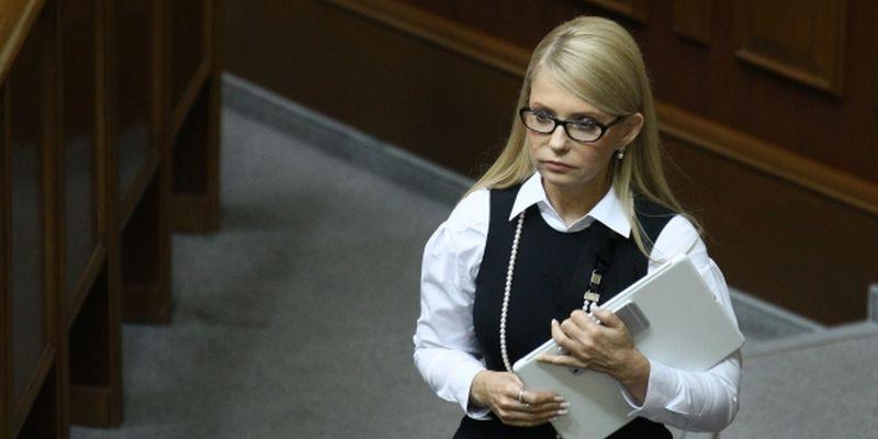 тимошенко распустила косу