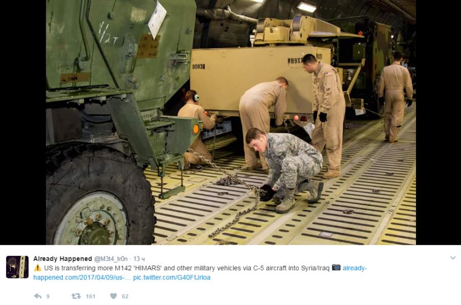 американские военные отправляются в Сирию3