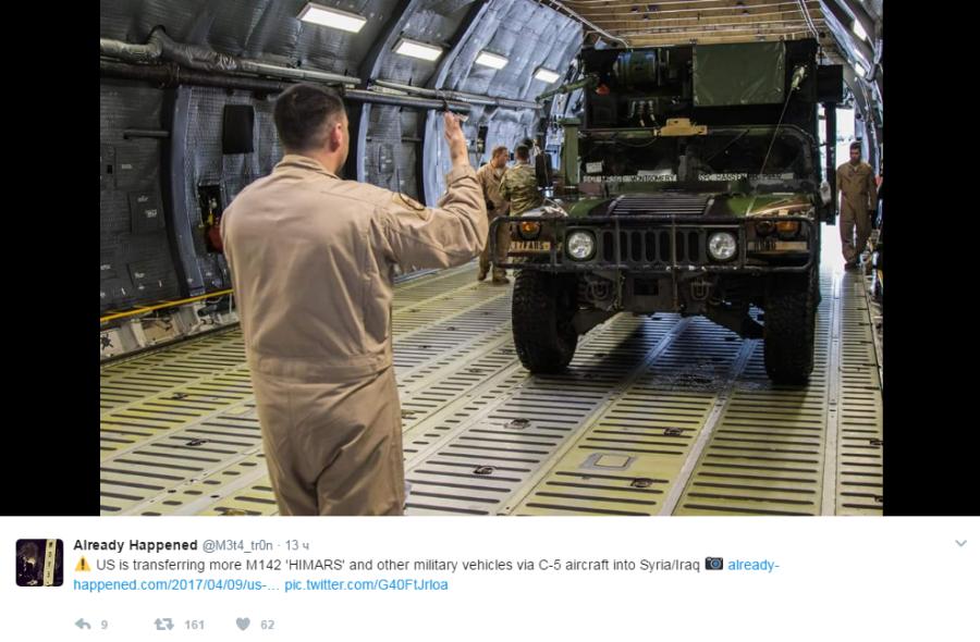 американские военные отправляются в Сирию4