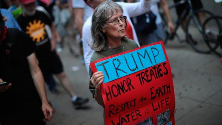 Трампа сожрут за выход из соглашения по климату