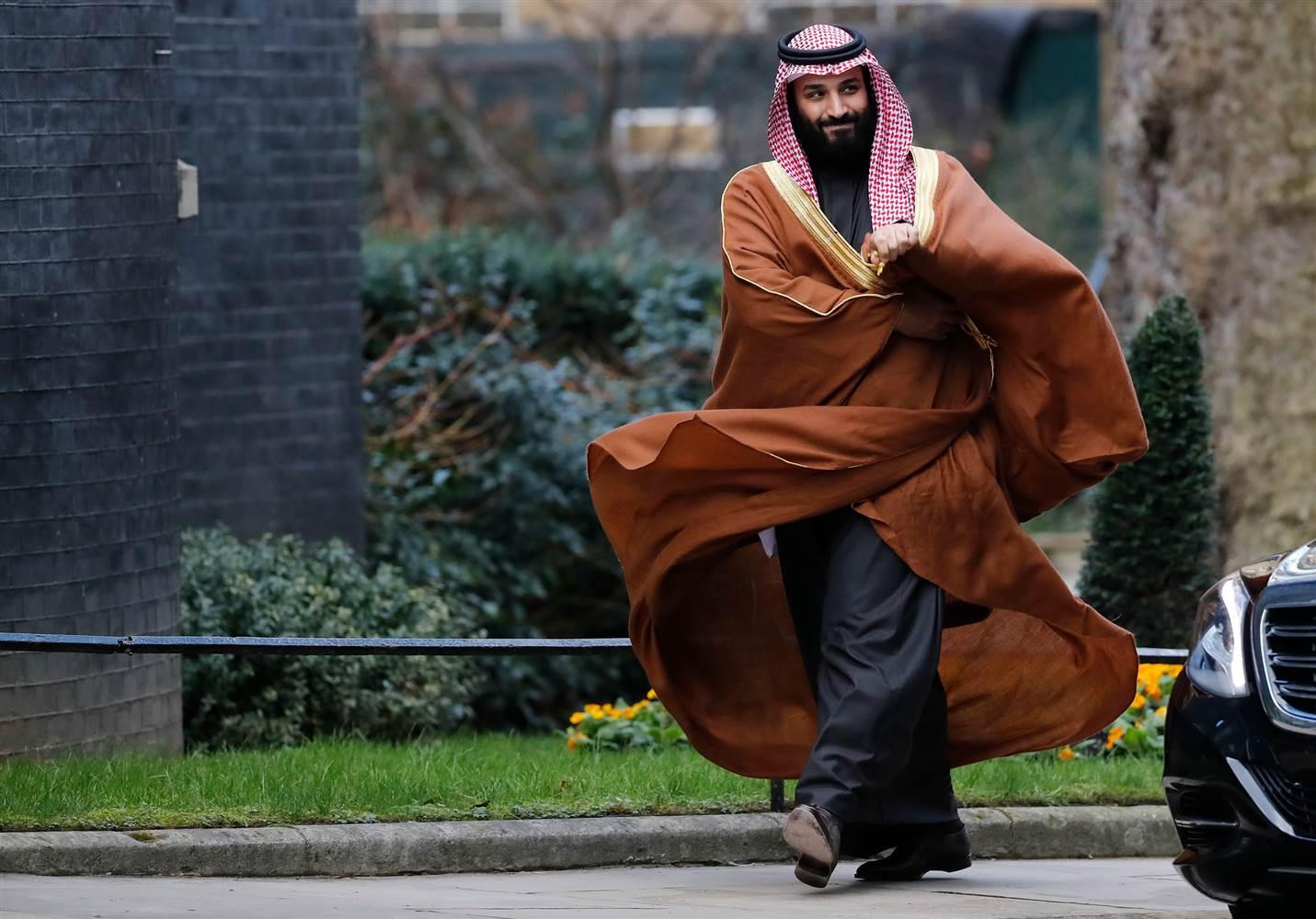 Наследный принц Саудовской Аравии Мухаммед бин Салман