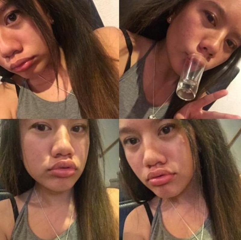 Фото девушек с пухлыми губ 3 фотография