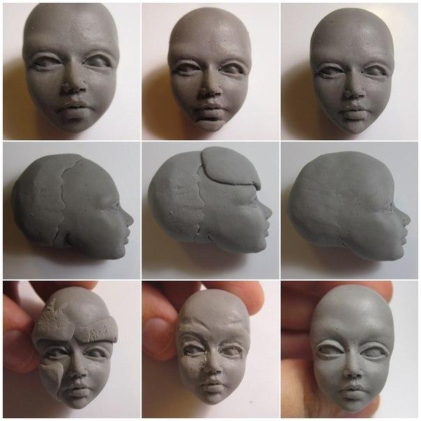 Как делать куклы из полимерной глины