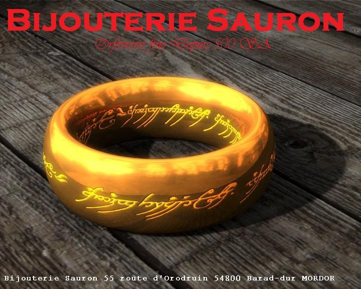 La Bijouterie Sauron vous propose sa collection spéciale d'anneaux du plus bel effet avec des lettrages fantaisie. Contacter la Bouche de Sauron au 04 56 89 07 666