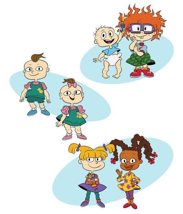 First Look At Rugrats Reboot