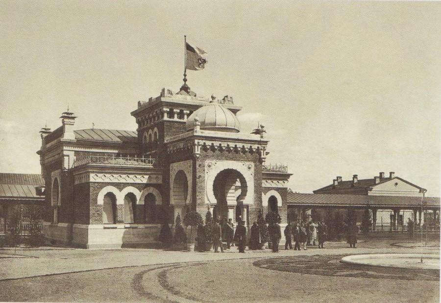 Москва. Императорский железнодорожный павильон