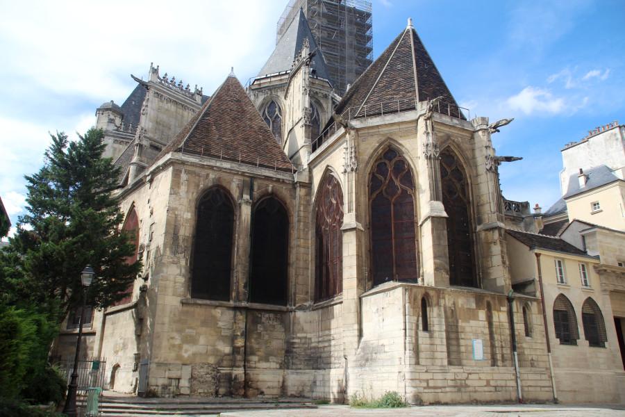 Париж. Церковь Сен-Жерве.