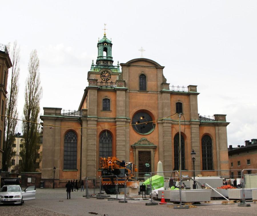 Стокгольм. Церковь святого Николая.