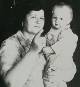 Мария Тимофеевна с Машиной сестрой