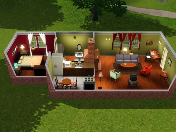 how to get into another sims apartment