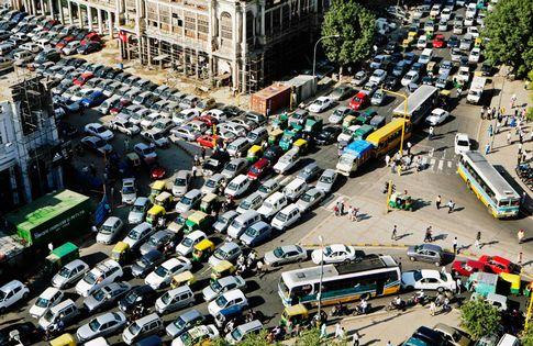 Indien-biltrafik