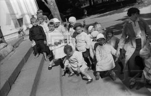 Детский сад. Поселок Усово-Зогородное. 1934. Фото А.Гринберга.