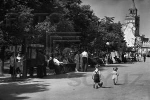 Фото Б.Игнатовича. Тверской бульвар. 1936 г.