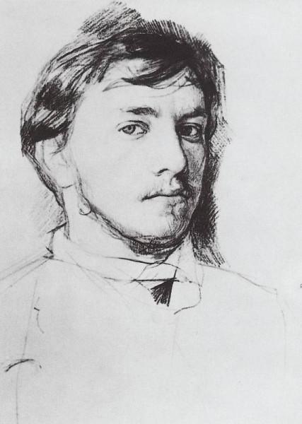 В.Серов. Автопортрет