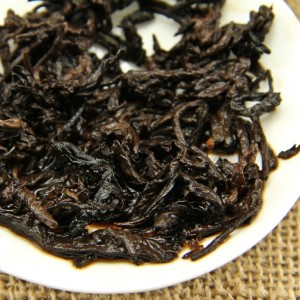 Yipin Leaves after brew