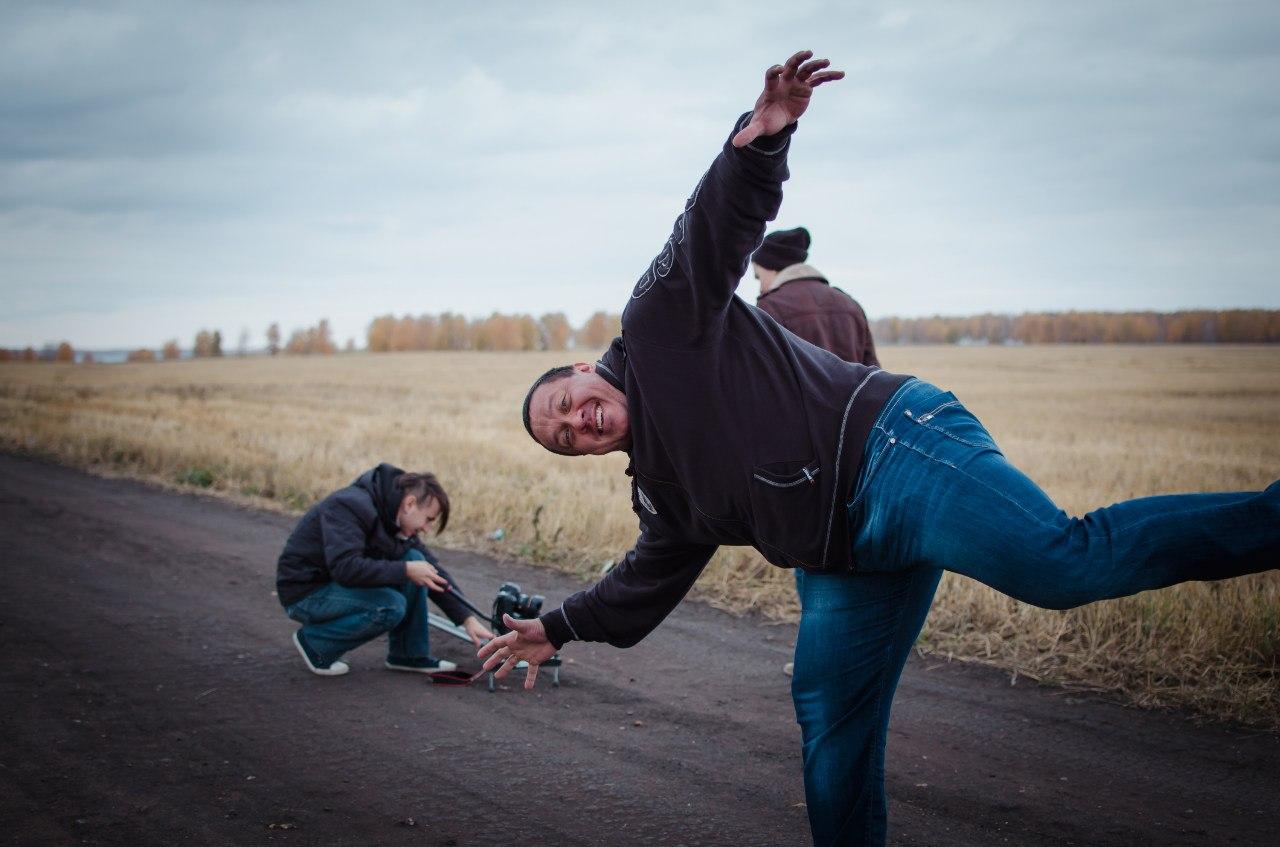 Bad Holiday и Михаил Кокляев- запись клипа Stolen Dance