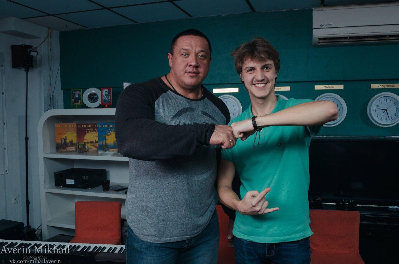 Михаил Кокляев и Степан Климов