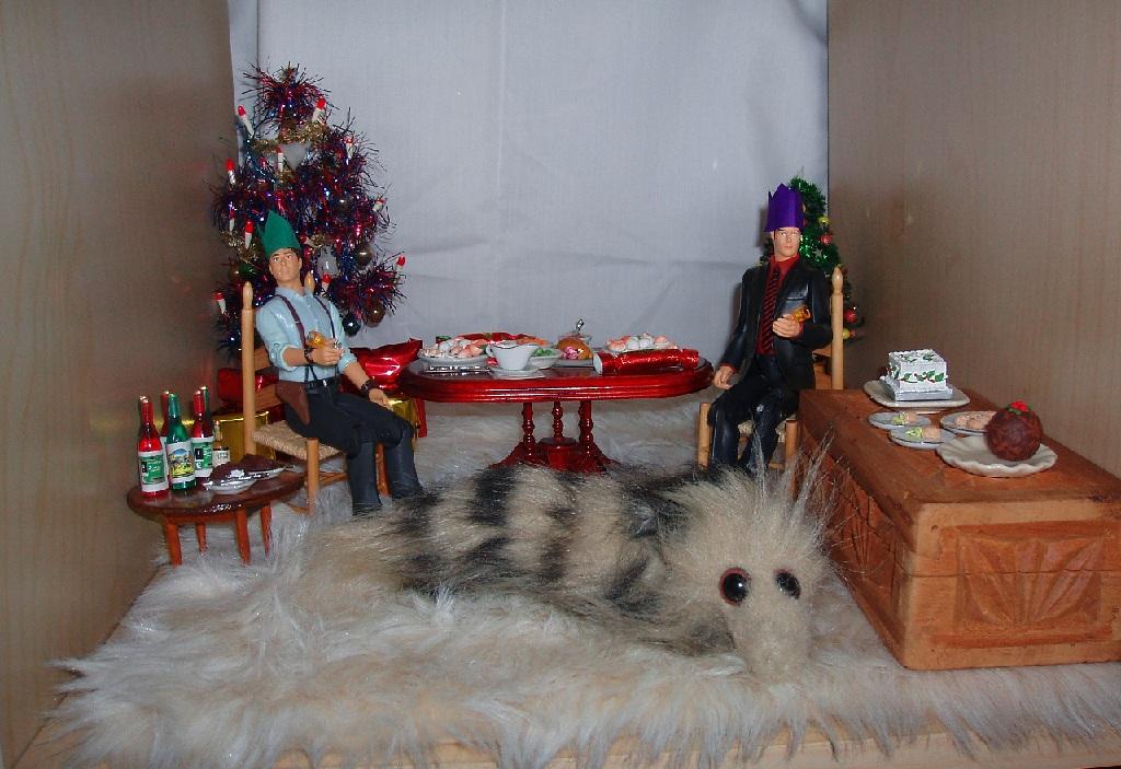 Jack, Ianto, Nosy Christmas 2