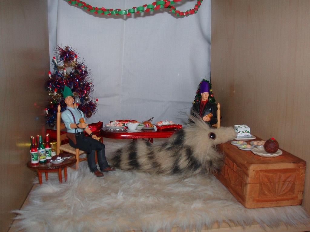 Jack, Ianto, Nosy Christmas 3
