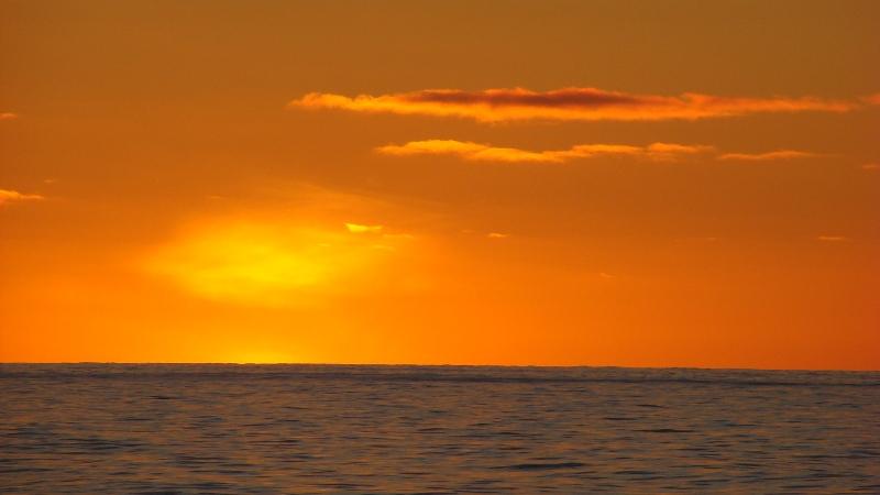 Greenland-Sea-Sunset