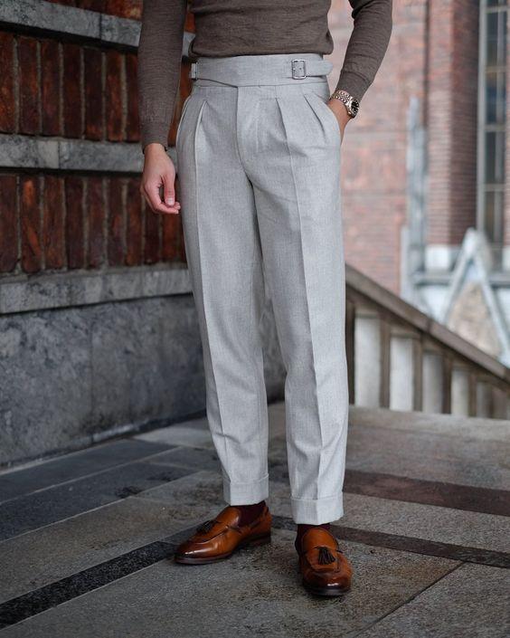 Classic Fit Gurkha Style Pants