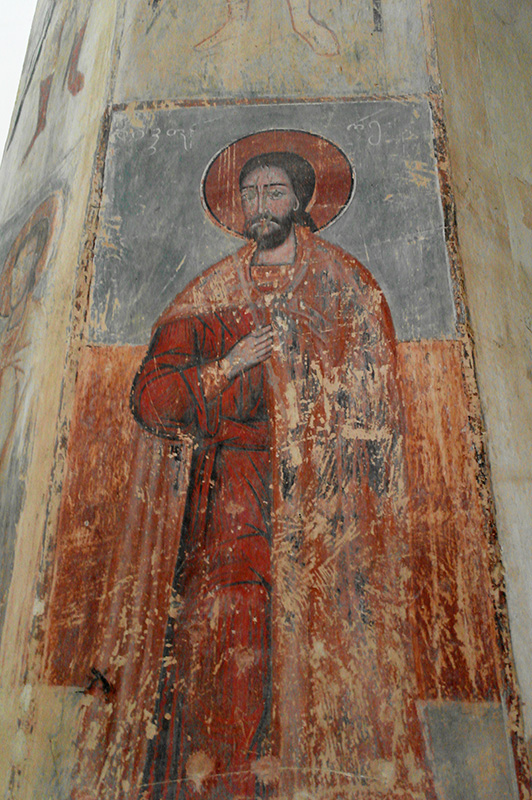Ананури. Фреска церкви Успения