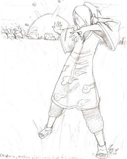 Deidara from the Akatsuki